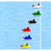 2コース艇がフライング覚悟で攻めて来ると1コース艇は非常に不利
